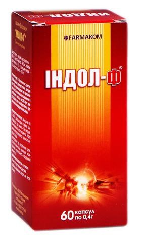Індол-Ф капсули 60 шт
