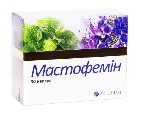 Мастофемін капсули 30 шт