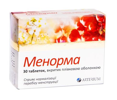 Менорма таблетки 30 шт