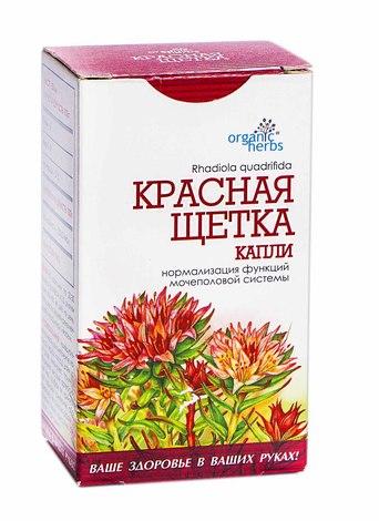 Organic Herbs Червона щітка краплі оральні 50 мл 1 флакон