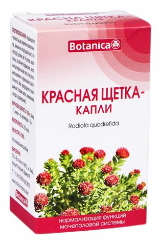 Botanica Червона щітка краплі 50 мл 1 флакон