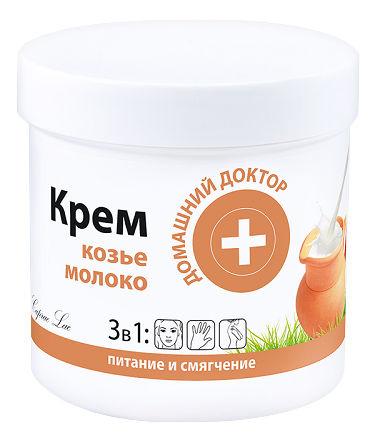 Домашній Доктор Крем для шкіри 3 в 1 Козине молоко 250 мл 1 банка