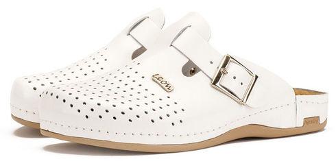 Leon 700 Медичне взуття чоловіче білого кольору 42 розмір 1 пара