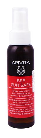 Apivita Bee Sun Safe Сонцезахисна олія для волосся 100 мл 1 флакон