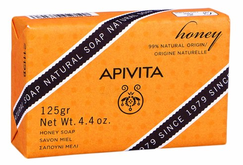 Apivita Мило натуральне з медом 125 г 1 шт