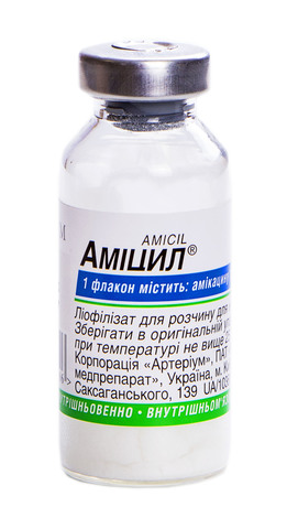 Аміцил ліофілізат для розчину для ін'єкцій 1000 мг 1 шт
