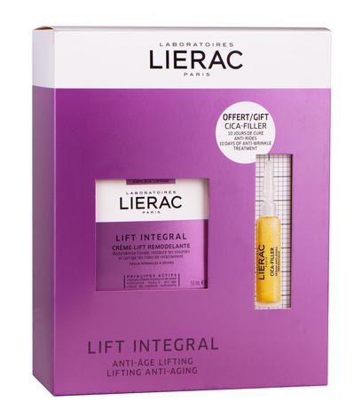 Lierac Lift Integral Крем-ліфтинг 50 мл + Відновлююча сироватка проти зморшок 10 мл 1 набір