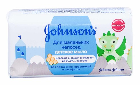 Johnson's Baby Дитяче мило Для маленьких непосид 100 г 1 шт