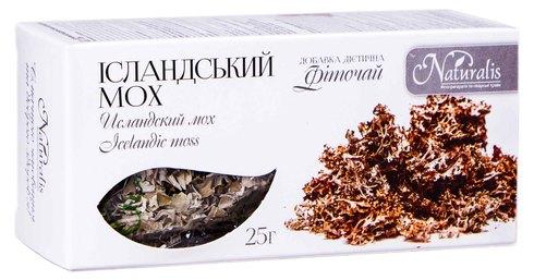 Naturalis Ісландський мох фіточай 25 г 1 пачка