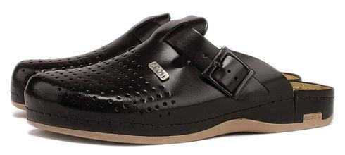 Leon 700 Медичне взуття чоловіче чорного кольору 43 розмір 1 пара