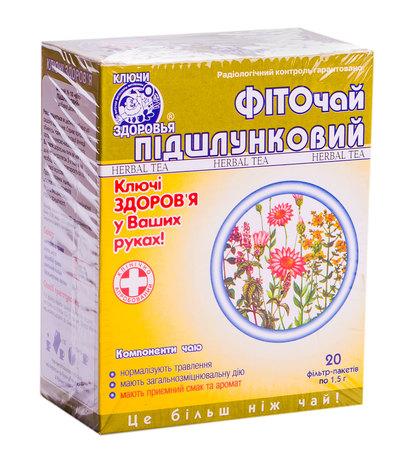 Ключі Здоров'я Фіточай №10 Підшлунковий 1,5 г 20 фільтр-пакетів