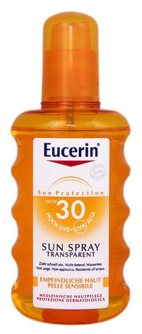 Eucerin Sun Protection Спрей сонцезахисний прозорий SPF-30 200 мл 1 флакон