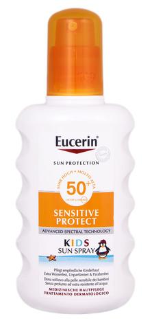 Eucerin Sun Protection Спрей сонцезахисний для дітей SPF-50 200 мл 1 флакон