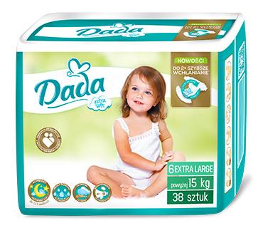 Dada Extra Soft Large 6 Підгузки дитячі 15+ кг 38 шт
