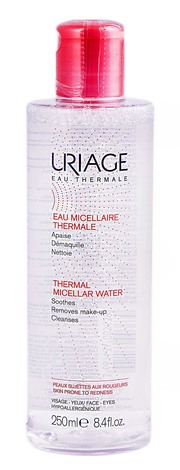 Uriage Міцелярна термальна вода  для шкіри схильної до почервоніння 250 мл 1 флакон