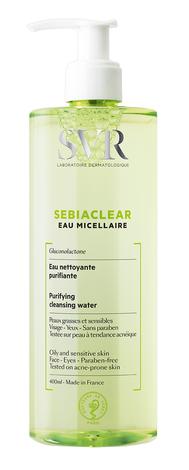 SVR Sebiaclear Міцелярна вода очищаюча 400 мл 1 флакон