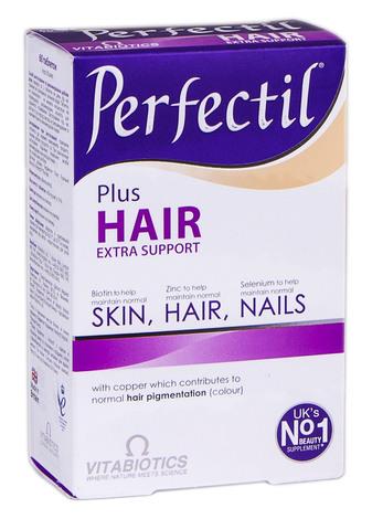 Перфектил плюс Розкішне волосся таблетки 60 шт