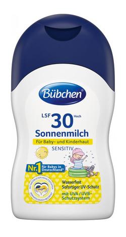 Bubchen Sensitive Дитяче сонцезахисне молочко SPF 30 50 мл 1 флакон